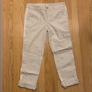 Anthropologie Hei Hei Cotton Capri Pants
